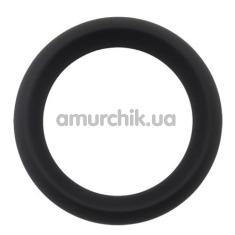 Эрекционное кольцо GK Power Infinity Silicone Ring L, черное - Фото №1