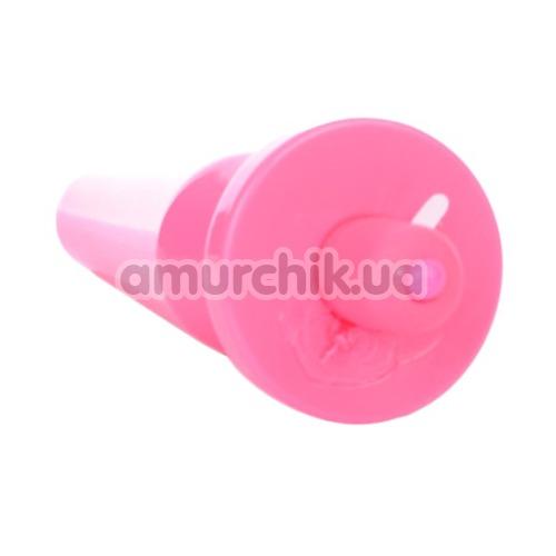Анальная пробка с вибрацией Popo Pleasure 731315, розовая