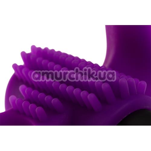 Виброкольцо Adrien Lastic Bullet Lastic Ring, фиолетовое