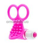Клиторальный вибратор See You Fingering, розовый