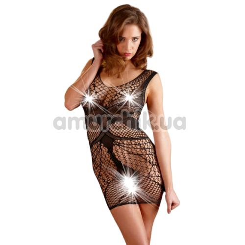 Платье-сетка Mandy Mystery Lingerie 27103821101, чёрное - Фото №1