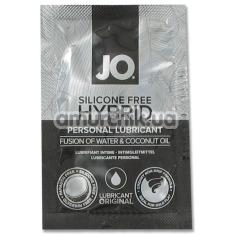Лубрикант JO Silicone Free Hybrid Personal Lubricant - кокос, 10 мл - Фото №1
