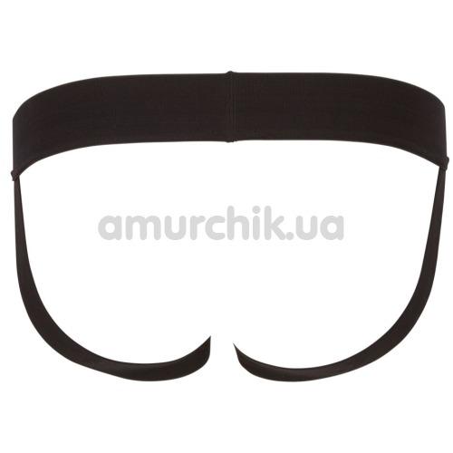 Трусы мужские в сеточку с открытыми ягодицами Svenjoyment Underwear 2100118, черные