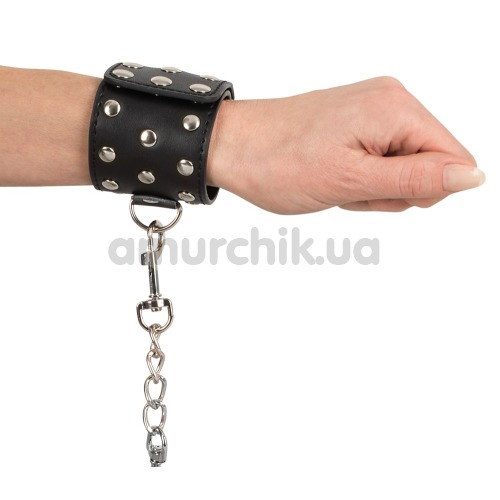 Фиксаторы для рук Bad Kitty Naughty Toys Shackle 2492059, черные