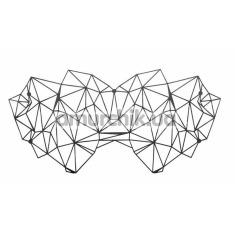 Маска на глаза Bijoux Indiscrets Kristine Mask, черная - Фото №1