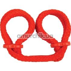 Фиксаторы для рук Japanese Silk Love Rope Wrist Cuffs, красные