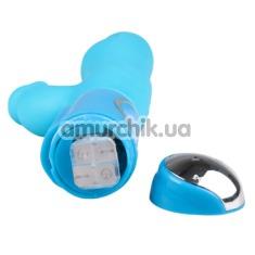 Вибратор Bouncing Bunny, голубой