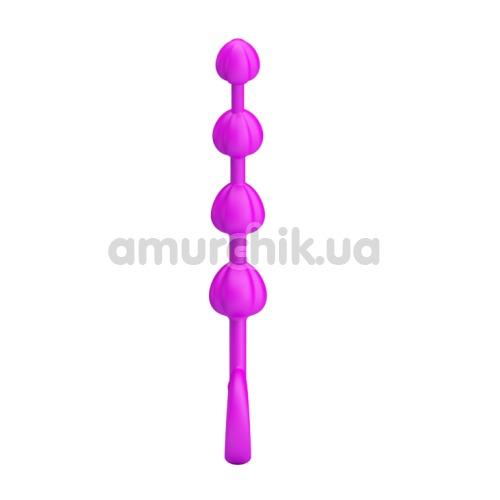 Анальная цепочка Pretty Love Beeds 014214, розовая