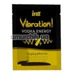 Возбуждающий гель с эффектом вибрации Intt Vibration Vodka Energy Tingling Effect Gel - водка, 5 мл - Фото №1