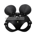 Маска мышки 2424, черная - Фото №1