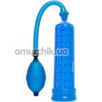 Вакуумная помпа Power Massage Pump, синяя