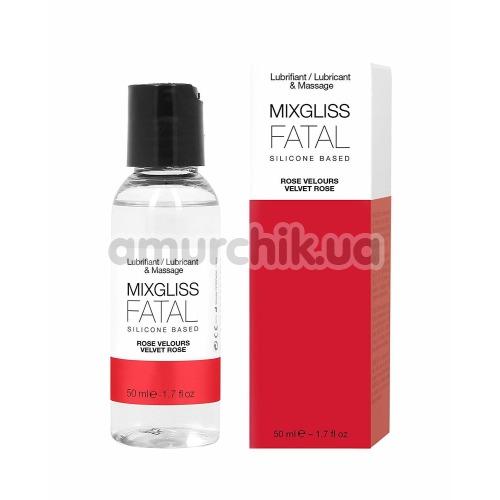 Лубрикант MixGliss Fatal Velvet Rose - роза, 50 мл