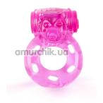 Виброкольцо Brazzers RC005, розовое - Фото №1