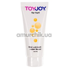 Лубрикант Toy Joy For Fun Anal Water Based Lubricant, 100 мл