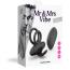 Виброкольцо Love to Love Mr & Mrs Vibe, черное - Фото №5