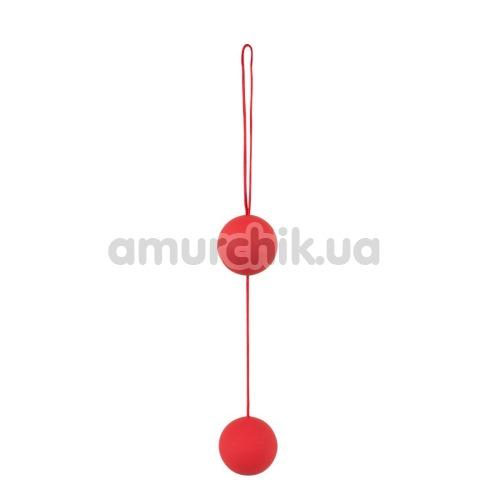 Вагинальные шарики Orgasm Balls, красные