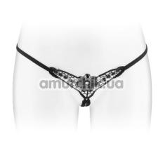 Трусики-стринги Fashion Secret Danuta, чёрные - Фото №1