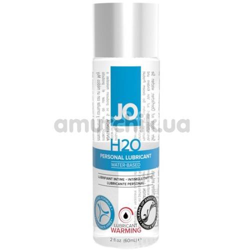 Лубрикант JO H2O Warming с согревающим эффектом, 60 мл