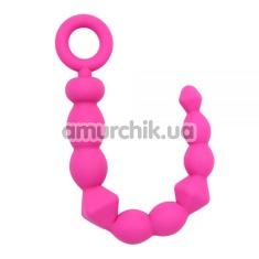 Анальная цепочка Fun Creation Bendy Beads, розовая