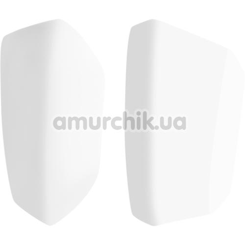 Набор насадок на симулятор орального секса для женщин Satisfyer Pro 2 Vibration, белый