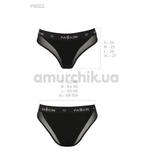 Трусики Passion PS002 Panties, черные