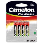 Батарейки Camelion Plus Alkaline High Energy AAA, 4 шт - Фото №1