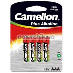Батарейки Camelion Plus Alkaline High Energy AAA, 4 шт - Фото №1