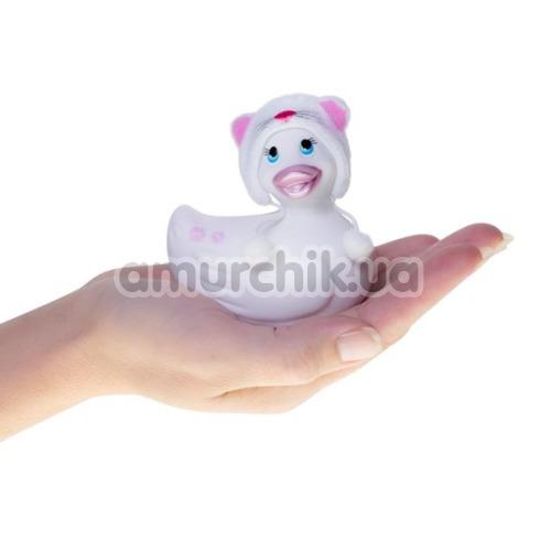 Клиторальный вибратор I Rub My Duckie Hoodie White, белый