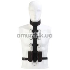 Фиксаторы Blaze Deluxe Collar Body Restraint, черные - Фото №1