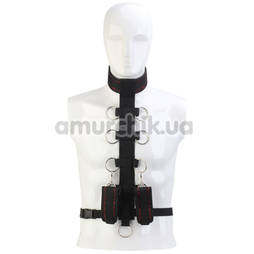 Фиксаторы Blaze Deluxe Collar Body Restraint, черные - Фото №1