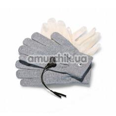 Перчатки для электростимуляции Magic Gloves, серые - Фото №1
