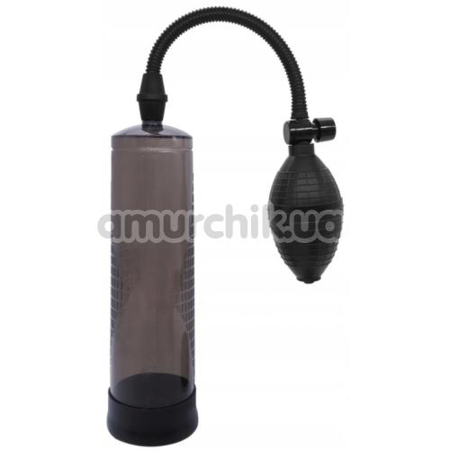 Вакуумная помпа Powerpump Penis Enlarger, черная - Фото №1