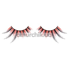 Ресницы Black-Red Feather Eyelashes (модель 614) - Фото №1