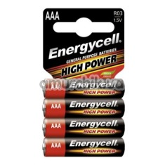Батарейки Energycell High Power AAA, 4 шт
