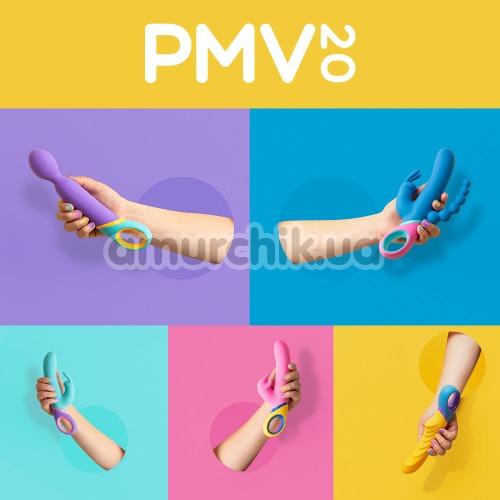Вибратор с ротацией PMV20 Meta, бирюзовый