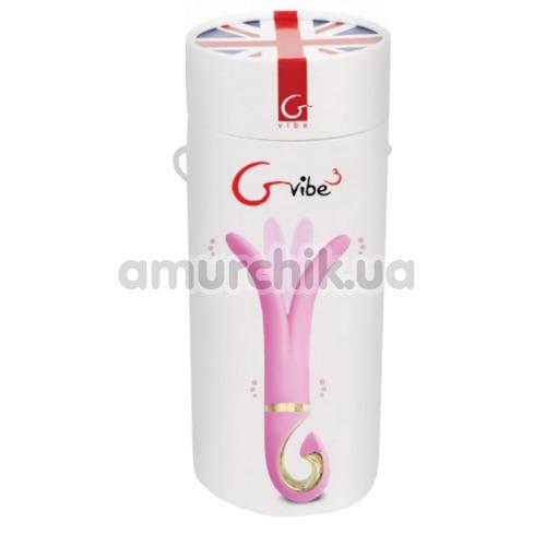 Универсальный вибромассажер Gvibe 3, розовый