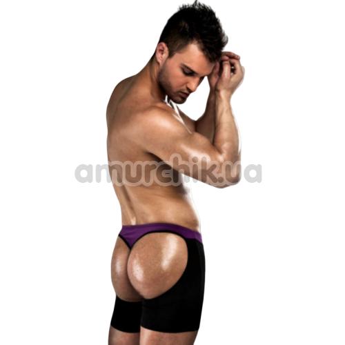 Мужские трусы Passion 009 Thong, черно-фиолетовые