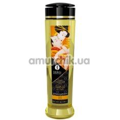 Массажное масло Shunga Erotic Massage Oil Stimulation Peach - персик, 240 мл - Фото №1