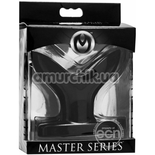Анальная пробка Master Series Mini Ass Anchor Dilating Anal Plug, черная