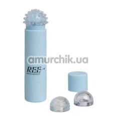 Клиторальный вибратор REE Styling Play, голубой - Фото №1