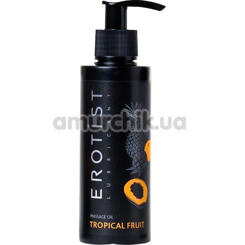 Массажное масло Erotist Lubricant Tropical Fruit - тропические фрукты, 150 мл - Фото №1