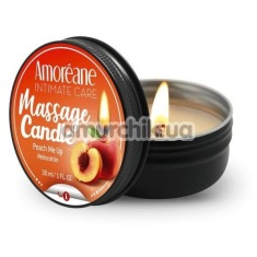 Массажная свеча Amoreane Massage Candle Peach Me Up - персик, 30 мл - Фото №1