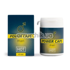 Возбуждающий препарат Hot Man Power (таблетки 60 шт.) - Фото №1