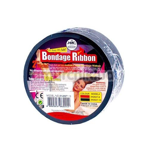 Бондажная пленка Bondage Ribbon, черная - Фото №1