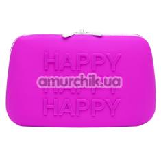 Сумочка для хранения секс-игрушек Happy Rabbit Storage Case Large, фиолетовая - Фото №1
