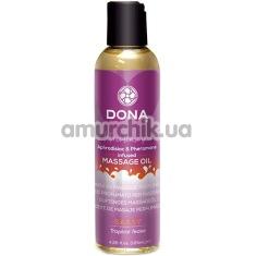 Массажное масло Dona Let Me Tease You Massage Oil Sassy Tropical Tease - дразнящие тропики, 125 мл - Фото №1