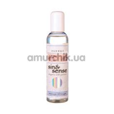 Массажное масло Sin & Sense Massage Oil Nougat - нуга, 150 мл - Фото №1