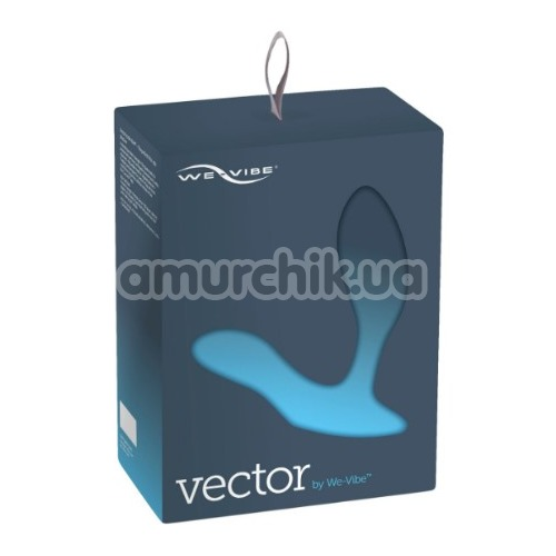 Вибростимулятор простаты We-Vibe Vector (ви вайб вектор синий)