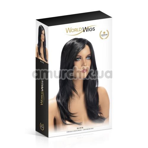 Парик World Wigs Olivia, черный