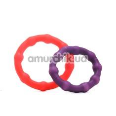 Набор из 2 эрекционных колец A Real Man's Cock Ring - Фото №1